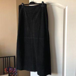 DANIER suede skirt